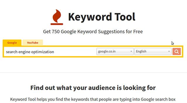 Keyword Tool 2021