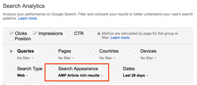 how to head a letter search analytics gets a new filter for amp amp normal 22313